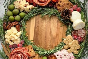 Charcuterie Wreaths Are The Perfect Way To Spread Holiday Cheer