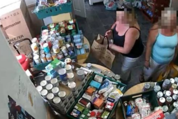 Women Banned From Food Bank After They Were Caught Filling Bag Six Times In One Day