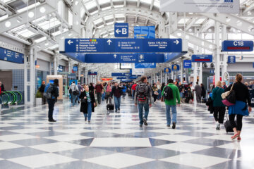 Man Found Living In Chicago Airport Because He Was 'Too Scared Of COVID-19' To Go Home