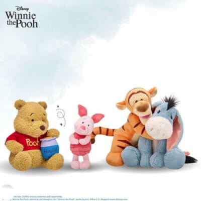 Build-A-Bear Launches Winnie The Pooh Collection With All His Friends From The Hundred Acre Wood
