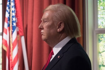 Waxwork Of Donald Trump Removed From Museum Because People Wouldn't Stop Punching It In The Face