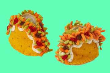These Baby Taco Booties Will Let Your Little One Fiesta In Style