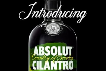 Absolut Cilantro Vodka Exists To Elevate Your Drinks — Or Totally Ruin Them