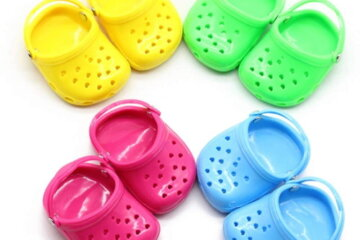 Crocs For Dogs Exist And They're Too Cute Not To Put On Your Pup's Paws
