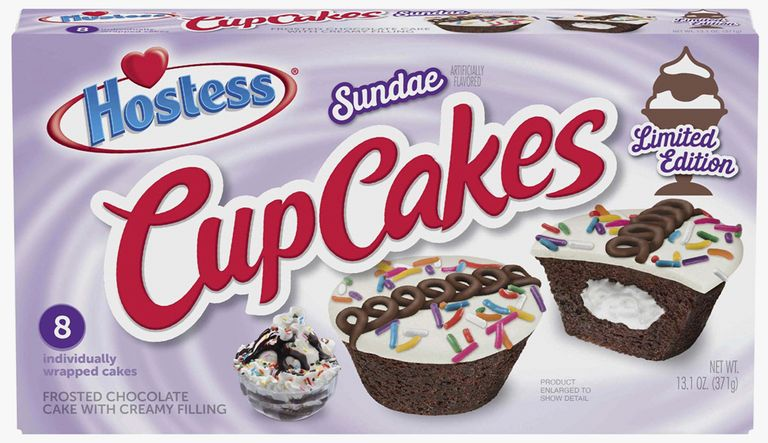 Hostess Now Has Sundae CupCakes Topped With Ice Cream-Flavored Icing