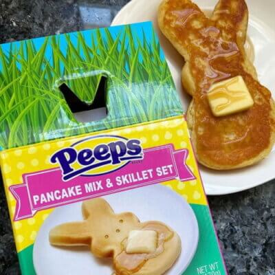 This Peeps Pancake Set Comes With Its Own Bunny-Shaped Skillet