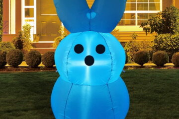 These Giant Peep Inflatables Will Bring The Easter Spirit To Your Lawn