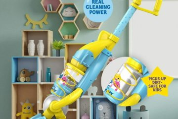 This 'Baby Shark' Vacuum For Kids Cleans The Floor While Singing The Classic Song