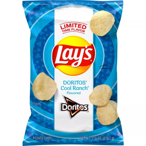 Lay's Is Releasing Chips Dusted With Doritos Cool Ranch Seasoning