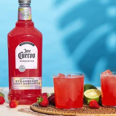 Jose Cuervo's New Light, Ready-To-Drink Strawberry Margarita Is Summer In A Bottle