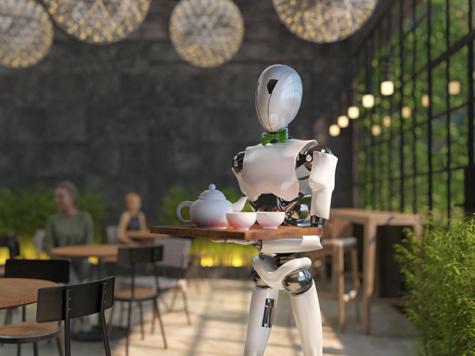 Florida Restaurant Uses Robots To Greet Customers And Deliver Food To Tables Amid Staff Shortages