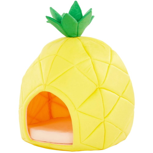 This Pineapple-Shaped Pet Bed Will Let Your Furry Friend Chill Out In Style All Summer Long
