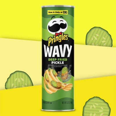 Pringles Released Deep-Fried Pickle-Flavored Chips For All Your Snacking Needs