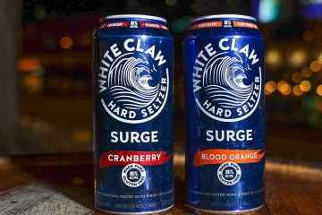 White Claw's New Hard Seltzer Surge Has 60% More Alcohol Than The Original Cans