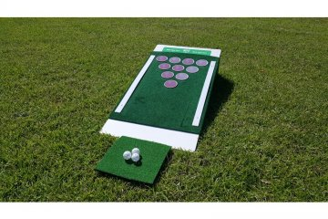This Beer Pong Golf Set Is The Hybrid Drinking Game/Sport You Never Knew You Needed