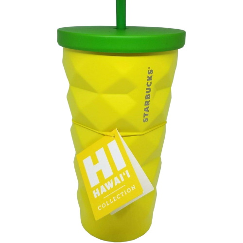 Starbucks Has A Pineapple Tumbler That Will Give Your Iced Coffee A Tropical Vibe