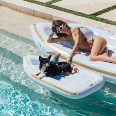 You Can Get Matching Pool Floats For You And Your Dog And You Definitely Should