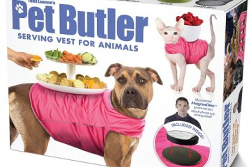 The Pet Butler Turns Your Dog Or Cat Into Your Own Personal Helper