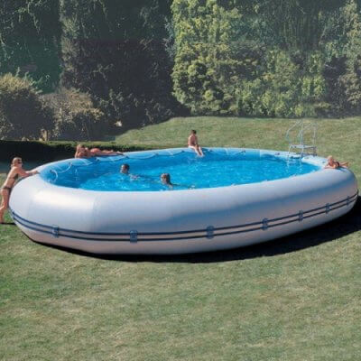 This Massive Inflatable Pool Blows All Those Other Kiddie Pools Out Of The Water
