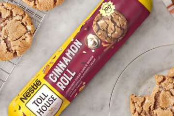 Nestle Toll House Has Cinnamon Roll Cookie Dough That's Perfect For The Coming Fall