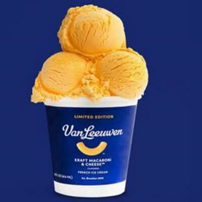 Kraft Macaroni & Cheese Ice Cream Exists If That's Your Thing