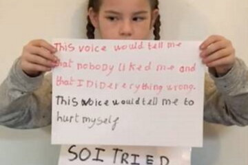 Girl Who Attempted Suicide At 8 Shares Inspiring Message To Other Kids Who Are Struggling