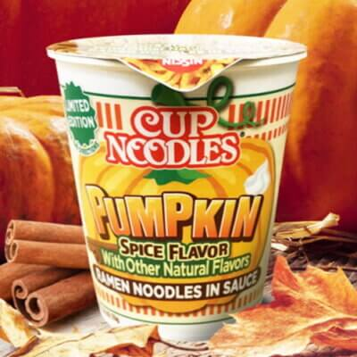 Cup Noodles Is Releasing A New Pumpkin Spice Flavor Just In Time For Fall
