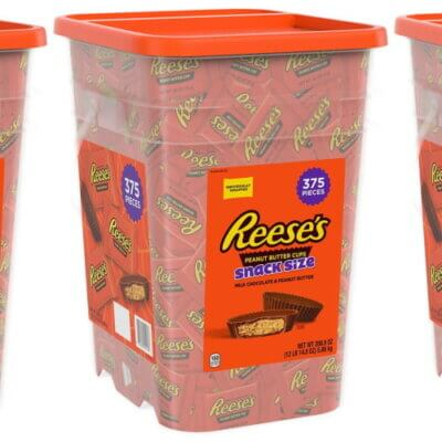 Sam's Club Is Selling A Giant Container Filled With 375 Reese's Peanut Butter Cups For All Your Snacking Needs