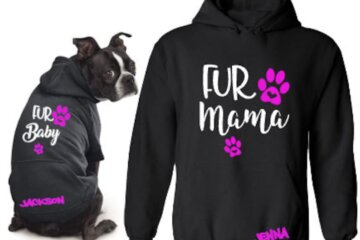 You And Your Dog Can Now Get Matching Hoodies To Show Just How Close You Are