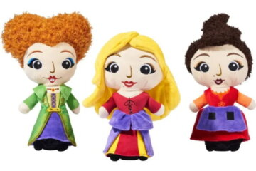 These 'Hocus Pocus' Sanderson Sister Dog Toys Will Put A Spell On Your Pups