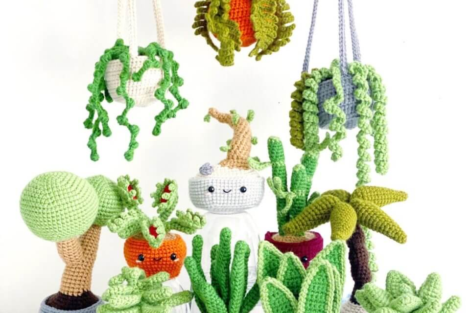 These Crocheted Plants Are Perfect For Anyone Who Can't Keep The Real Thing Alive