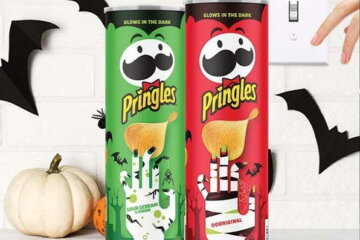 Pringles Is Releasing Glow-in-the-Dark Cans For Halloween