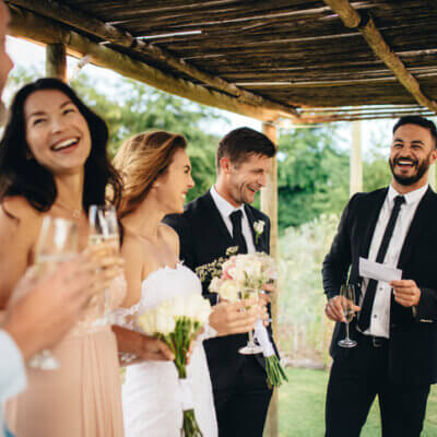 Best Man Asked To Leave Wedding After Insulting Bridesmaids In His Speech